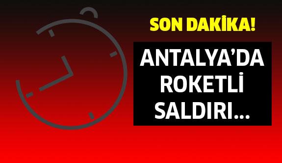 SON DAKİKA: Antalya'da Patlama!