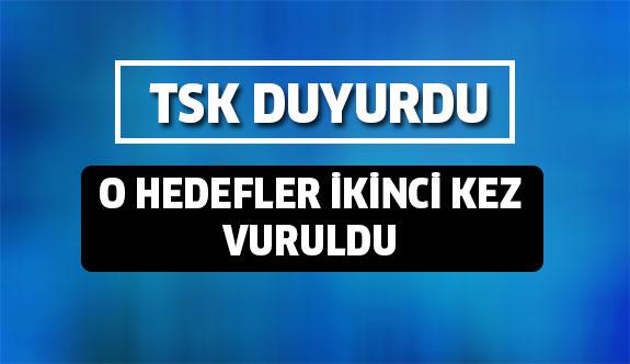 Son durum sıcak bölgede neler oluyor TSK açıkladı!