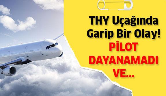 Türk Hava Yollarında Garip Bir Olay...