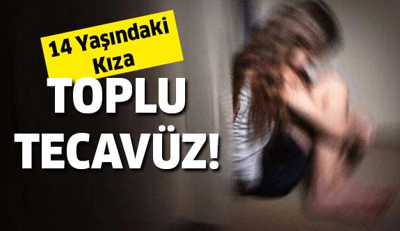 14 Yaşındaki Kıza Toplu Tecavüz Sonucu...