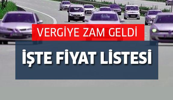 2017 VERGİ ZAM LİSTESİ AÇIKLANDI!