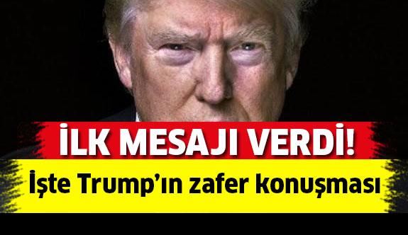 ABD Başkanı seçilen Trump'ın İlk Açıklamaları