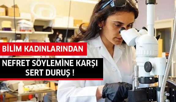 Bilim kadınlarından nefret söylemine mektup