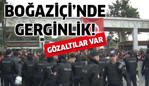 Boğaziçi Üniversitesinde eylem gerginliği!