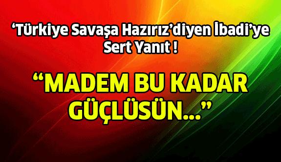 Çavuşoğlu'ndan Irak Başkanı'na Sert Cevap !