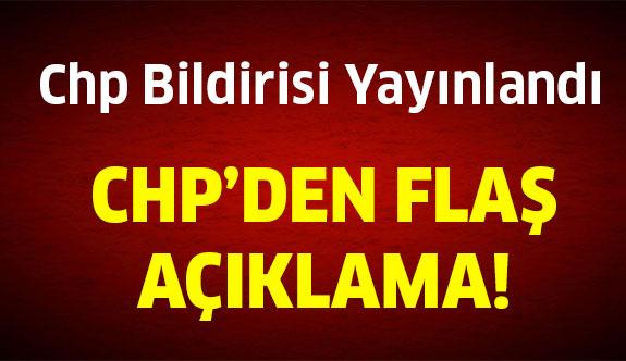 CHP Meclisinden HDP Açıklaması!