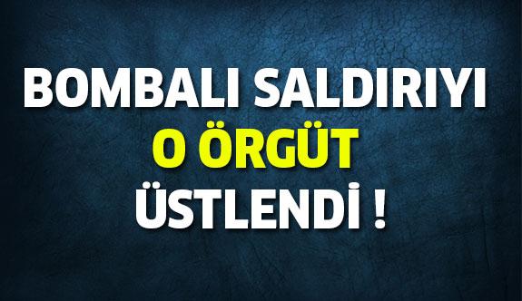 Diyarbakır'daki Bombalı Saldırıyı O Örgüt Üstlendi !