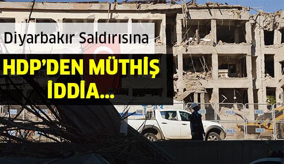 Diyarbakır'daki Saldırıya HDP'den Müthiş İddia !