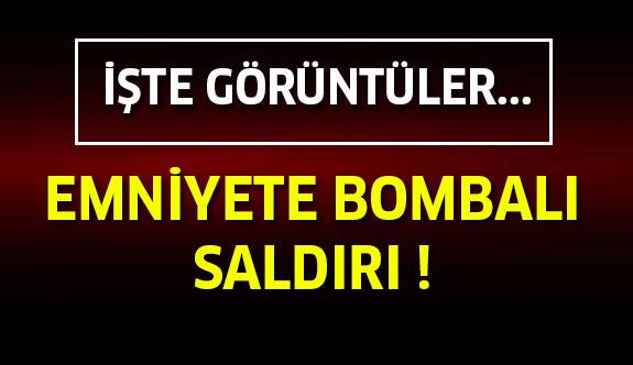 Emniyete Bombalı Saldırı : Patlamanın Şiddeti Tüm Kentte Hissedildi...