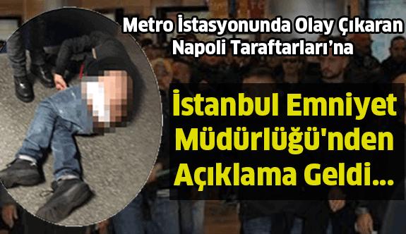 Emniyetten Beşiktaş-Napoli Açıklaması Geldi !