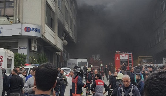 İstanbul'da büyük çaplı yangın!