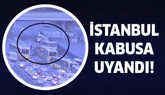 İstanbul'da Feci kaza meydana geldi!