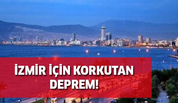 İzmir Körfez'de korkutan deprem!