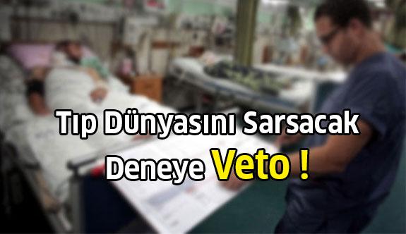 Komadaki hastanın bilincini yerine getirecek ilk adıma veto!
