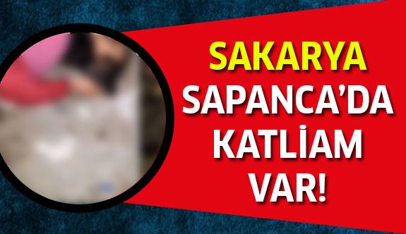 Sakarya Sapanca'da Dehşet Görüntüler!