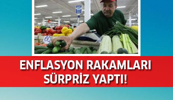 Son dakika: Enflasyon rakamları sürpriz yaptı!
