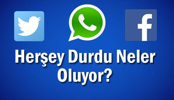 Türkiye genelinde bağlantı sorunu!