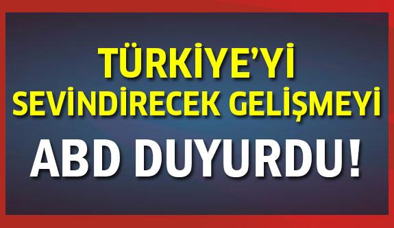 Türkiye'yi memnun edecek karar!