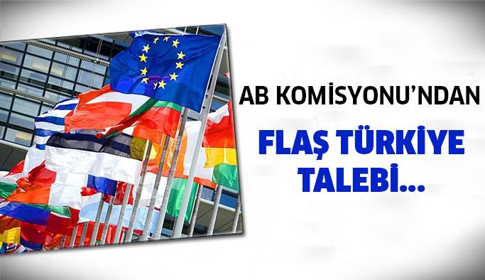 AB'den Flaş Türkiye Talebi...