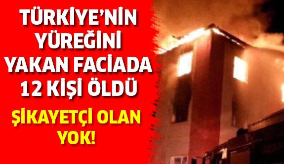 Adana'daki yurt yangınında kimse şikayetçi olmadı!