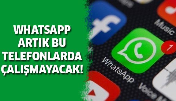 Artık bu telefonlarda Whatsapp çalışmayacak!