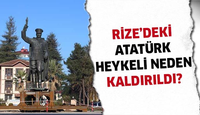 Atatürk Heykeli Neden Kaldırıldı?