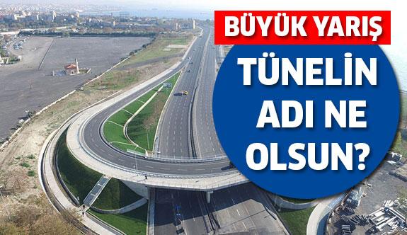 Avrasya Tüneli için büyük yarış!
