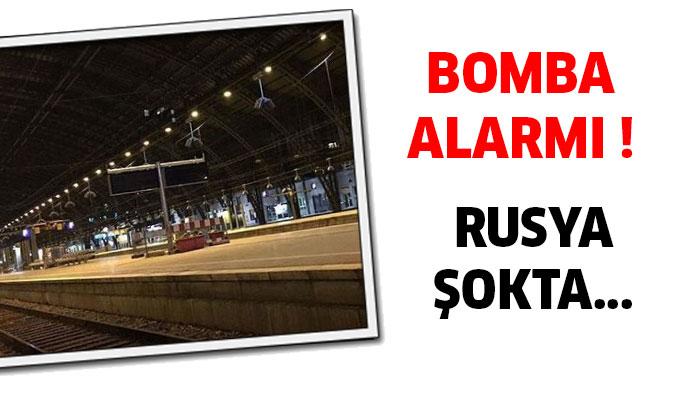 Bomba Alarmı ! İstasyonlar Boşaltıldı...