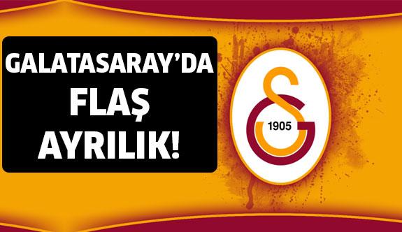 Görevine son verildi... Galatasaray'da Flaş Ayrılık!