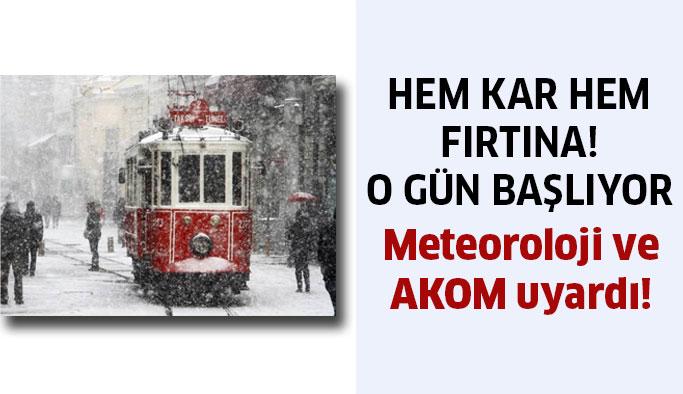 İstanbullular o güne dikkat! Gece bastıracak