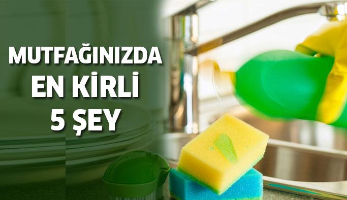 Mutfağınızda En Kirli 5 Yeri Nasıl Temizlersiniz?