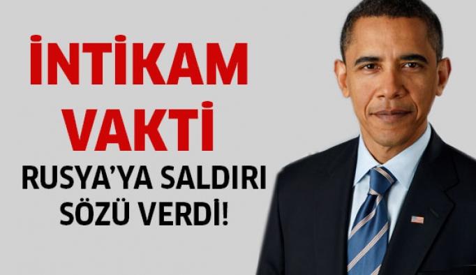 Obama'dan Rusya'ya saldırı sözü!