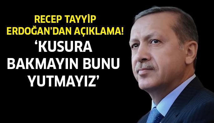 Recep Tayyip Erdoğan'dan çarpıcı açıklamalar!
