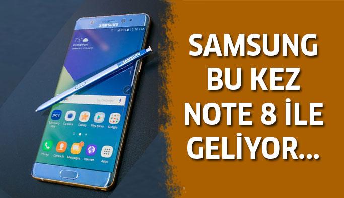 Samsung Note 8 İle Geliyor !