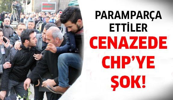 Şehit cenazesinde CHP'ye şok hamle!