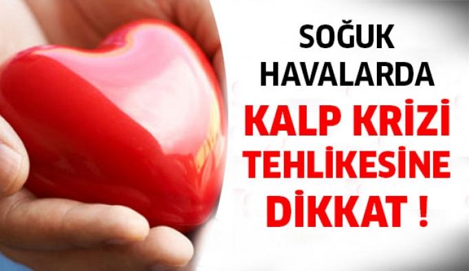 Soğuk Havalarda Kalp Krizi Riskine Dikkat !