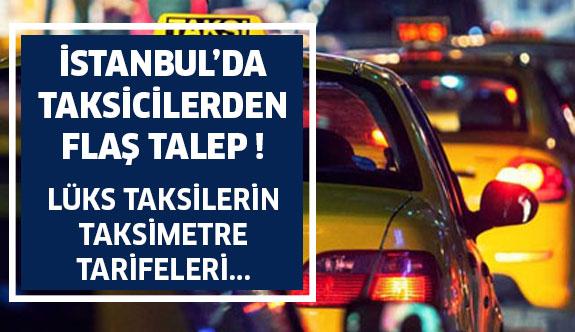 Taksicilerden Taksimetre Tarifesi Talebi