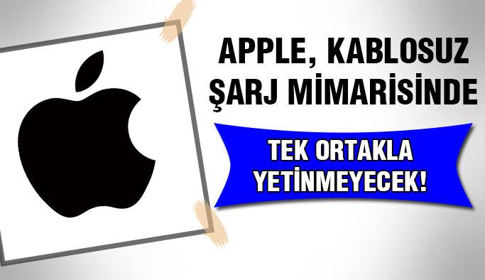 Apple, Kablosuz Şarj Mimarisinde Bir Ortakla Yetinmiyor !