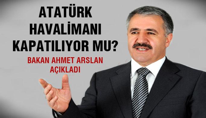Bakan Ahmet Arslan soruları yanıtladı...