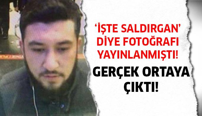 Bazı sitelerde saldırgan diye fotoğrafı yayınlanmıştı!