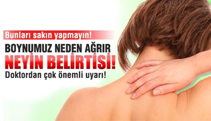 Boyun ağrısının nedenleri ve tedavi yolları