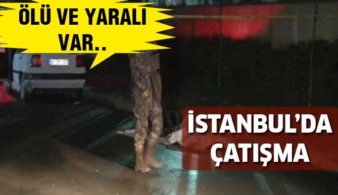 Gaziosmanpaşa'da çatışma:Ölü Ve Yaralılar Var