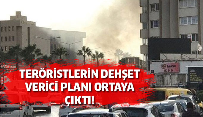 Hain teröristlerin alçak planı ortaya çıktı!