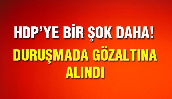 HDP'li Vekil Adliyede Gözaltına Alındı