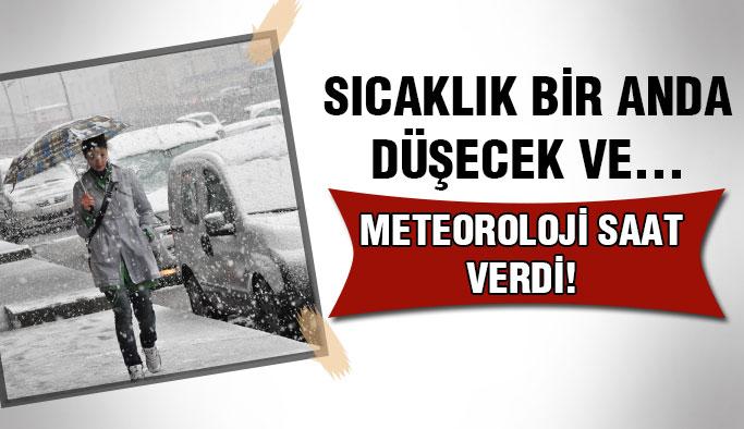 İstanbul'da kar yağışı ne zaman başlıyor ?