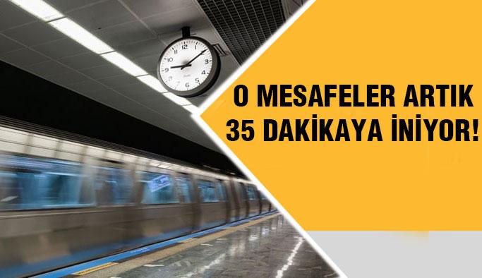 Pendik-Kadıköy artık 35 dakika ! Açılış bugün...