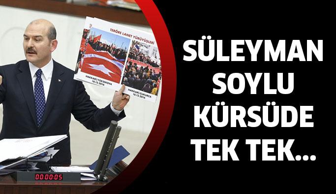 Süleyman Soylu tek tek ispatladı...