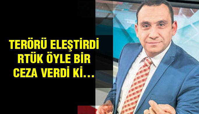 Teröristi Eleştiren Kanala RTÜK'ten Ceza