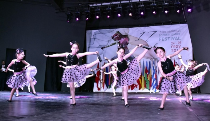 Uluslararası Bodrum Dans Festivali başladı