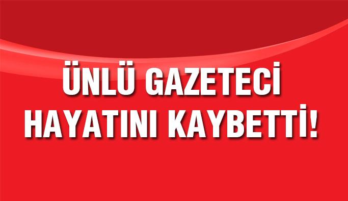 Ünlü gazeteci Ahmet Refik Erduran hayatını kaybetti...